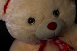 игрушка мягкая медведь с сердцем 1210/42 h=45cm