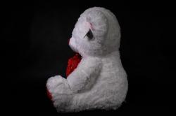игрушка мягкая медведь с сердцем аг-2213/58 h=56cm