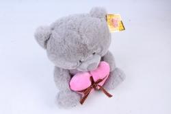 Игрушка мягкая Медведь с сердцем   М-0150/23