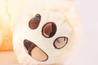 игрушка мягкая медведь с шарфом шампань 1114/38 h=38см