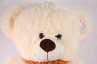 игрушка мягкая медведь с шарфом шампань 20176/50-аг h=47см