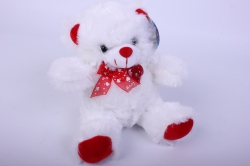 Игрушка мягкая Медведь с светящимся сердцем  15194-МА