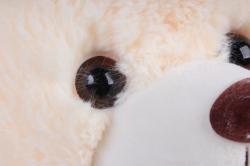 игрушка мягкая - медведь с вышитым бантом м-2956/40