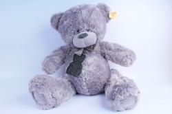 Игрушка мягкая Медведь серый   М-2050/48