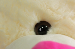 игрушка мягкая медведь шампань с сердцем h=40см аг-1750/40