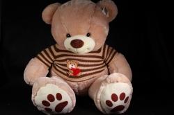 Игрушка мягкая Медведь в кофте 2 цвета 80см  М-3360/80