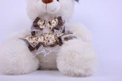 игрушка мягкая медведь в платье аг-1383