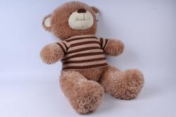 Игрушка мягкая Медведь в свитере бежевый М-3311/60 h=60cm