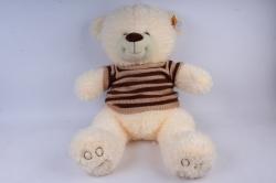 Игрушка мягкая Медведь в свитере шампань М-3311/60 h=60cm