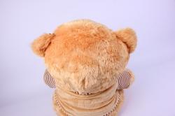 игрушка мягкая медведь в толстовке  1579-ма