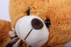 игрушка мягкая - медведь зоо 4 зверя аг-2921/30 h=27cm