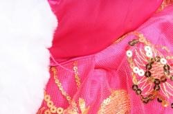 Игрушка мягкая Медвежонок в кружевном платье   М-3101/48