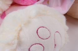 игрушка мягкая медвежонок в платье 32см  аг-20217/32