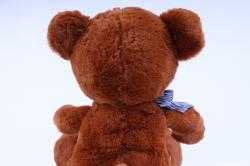 игрушка мягкая мишка коричневый с большими лапами  32см  1532/32