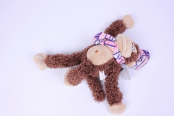игрушка мягкая обезьянка с шарфом  16100-аг