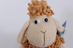 игрушка мягкая овечка коричневая  4431-аг