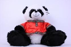 игрушка мягкая панда в рубашке ма-4825а