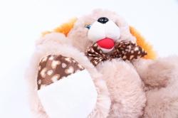 игрушка мягкая собака 30см   зоо 3-зверя  аг-4198/30