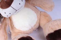 игрушка мягкая собака 40 см аг-1684/40