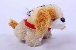 игрушка мягкая собака брелок  аг-380