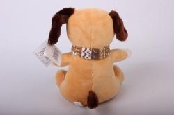 игрушка мягкая - собака песочная аг-1759/19 h=22cm
