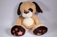 игрушка мягкая собака с большими лапами  50см  1531/50
