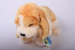Игрушка мягкая - Собака с большими ушами АГ-1797/25 h=22cm