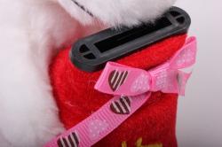 игрушка мягкая - собака с копилкой аг-1795/15 h=18cm