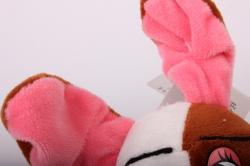 игрушка мягкая - собака сидит аг-1796/16 h=23cm