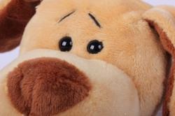 игрушка мягкая собака в валенках музыкальная ма-18600/16 h=27см