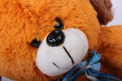 игрушка мягкая - собака зоо 4 зверя аг-2921/30 h=27cm