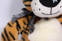 игрушка мягкая тигр с большими лапами  32см  1528/32
