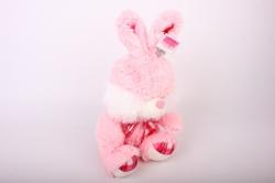 игрушка мягкая - заяц зоо 4 зверя аг-2921/30 h=27cm