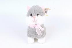 Игрушка мягкая-Кошка серая Д-3991/20