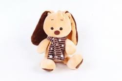 Игрушка мягкая-Кролик мягкий бежевый  Д-3705/19