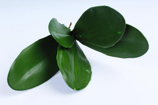 Искусственное растение - Листья Орхидеи с корешками F008