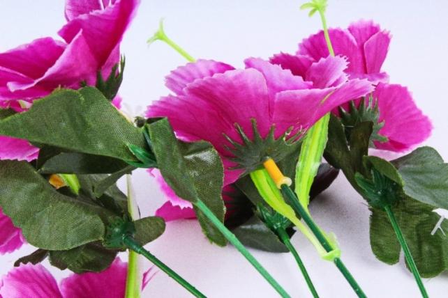 Искусственное растение - Анемона махровая фиолетовая