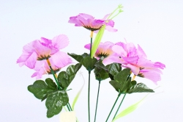 Искусственное растение - Анемона махровая сиреневая