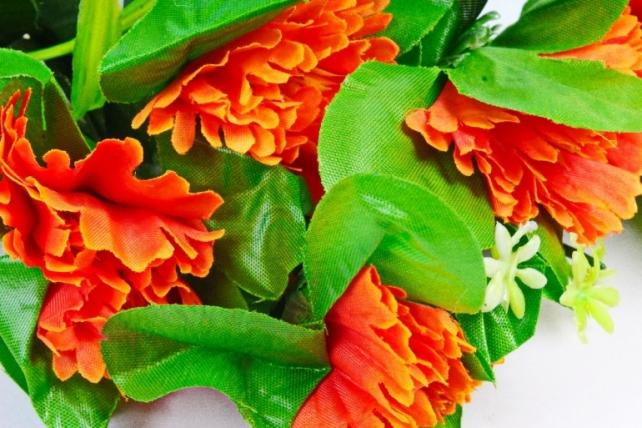 Искусственное растение - Анемона оранжевая