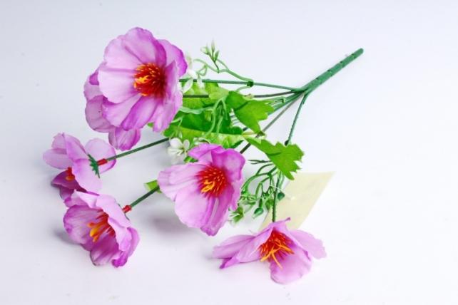 Искусственное растение - Анемоны фиолетовые