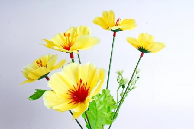 Искусственное растение - Анемоны жёлтые