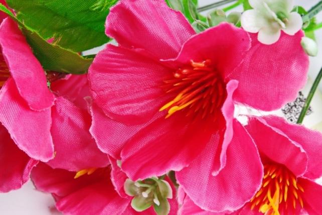 Искусственное растение - Анемоны малиновые