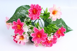 Искусственное растение - Азалия с гипсофилой бело-розовая