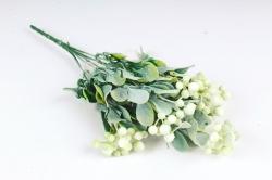 Искусственное растение - Барбарис корейский   белый Б10784