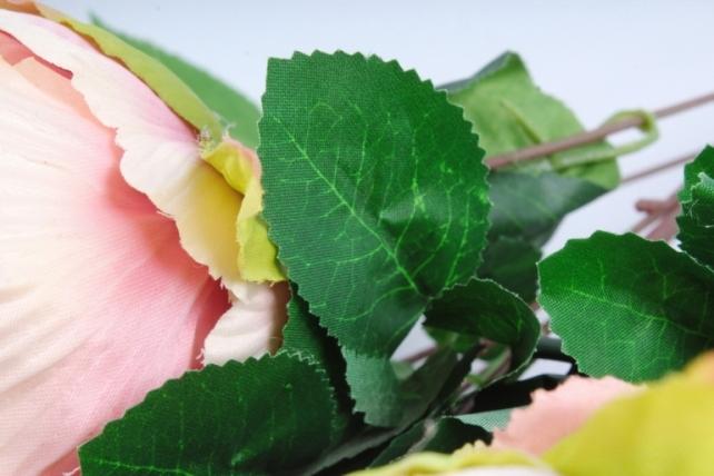 Искусственное растение - Букет Гортензия,пион пудровый LIU231
