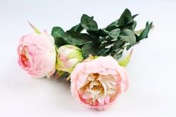 Искусственное растение - Букет пиона  светло-розовый LIU385