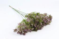 Искусственное растение - Букет укропа фиолетовый 45 см LIU375