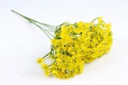Искусственное растение - Букет укропа жёлтый 45 см LIU375