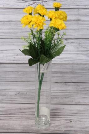 Искусственное растение - Цветочки-кудряшки жёлтые