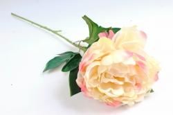 Искусственное растение - Цветок Пиона Жёлто-розовый    SUN406-2032, LIU310